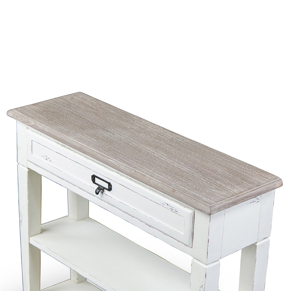 baxton studio dauphine traditional french drawer accent console table with drawers white floor ikea unique home pieces corner wine rack metal nic tables ocean decor dining cover