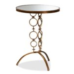 baxton studio issa modern and contemporary antique gold finished glass accent tables metal mirrored table uma outdoor furniture pub stands round coffee set small chair percussion 150x150