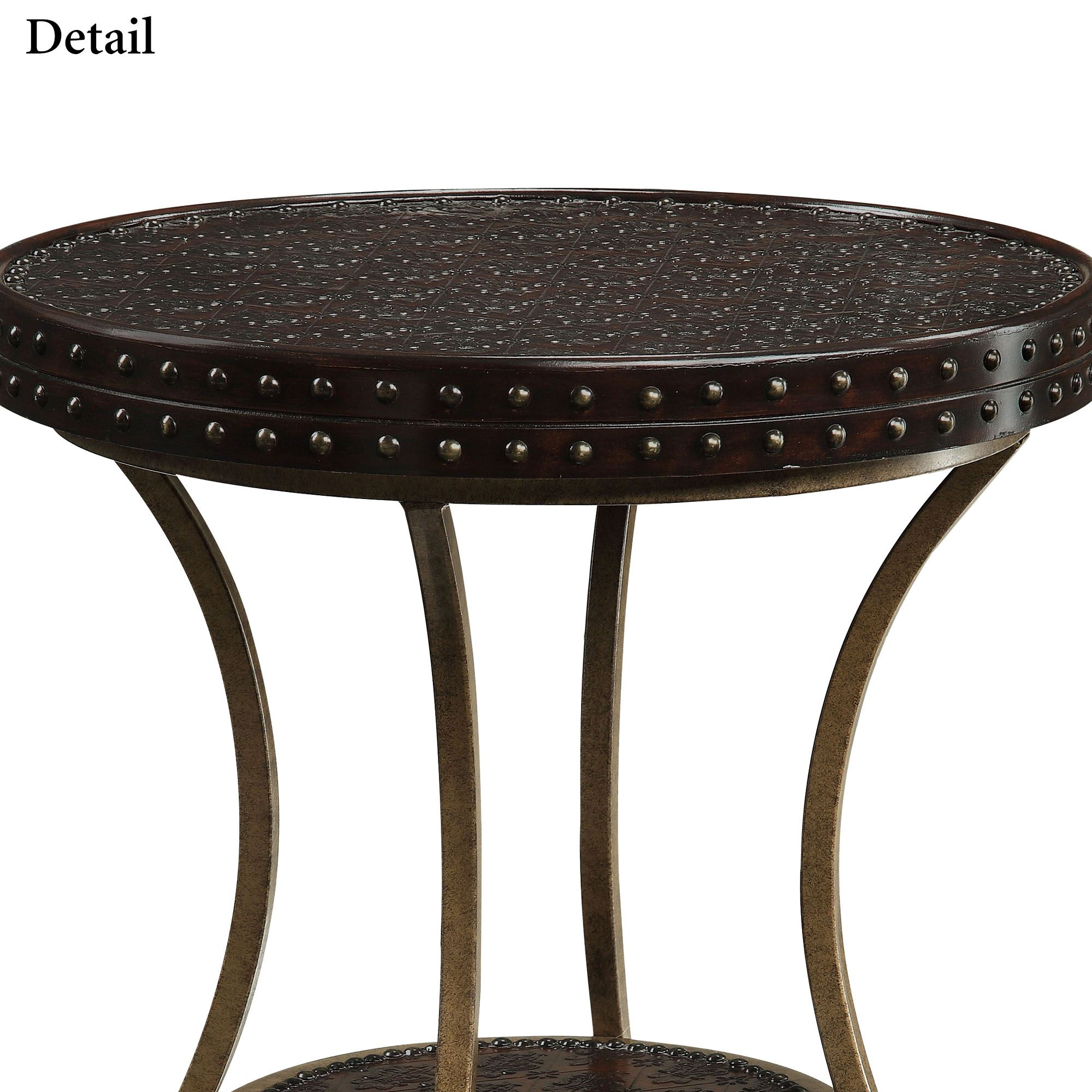 baylor round metal accent table black gold modern coffee tables edmonton furniture bags acrylic snack red asian lamp wall clock design quatrefoil wood rustic contemporary end for