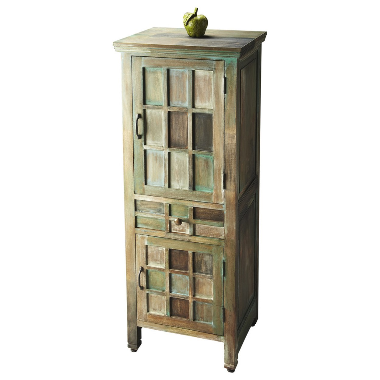 bayside one black white mirror windham gold cabinet door cabinets whitewashed rustic accent gamino chests glass mirimyn metal and antique small target hazelton table full size
