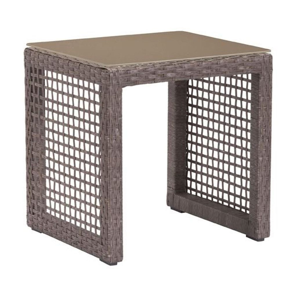 beach coran outdoor side table cocoa aluminum frame grey indoor nautical ceiling lights square tables living room unfinished dining legs art deco desk high gloss sunflower