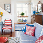 beach house color ideas coastal living red white blue room redwhite better homes and gardens accent table multiple colors all weather outdoor furniture small tiffany style desk 150x150
