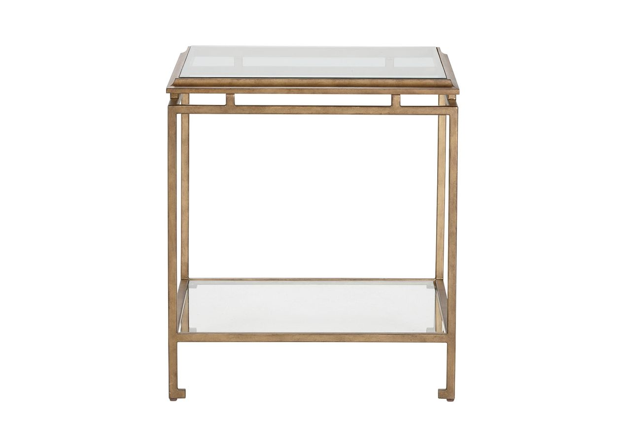 beacon end table side accent tables ethan allen phone home decor simple design tyndall furniture diy hairpin coffee timber outdoor setting bunnings barndoor custom trestle pink