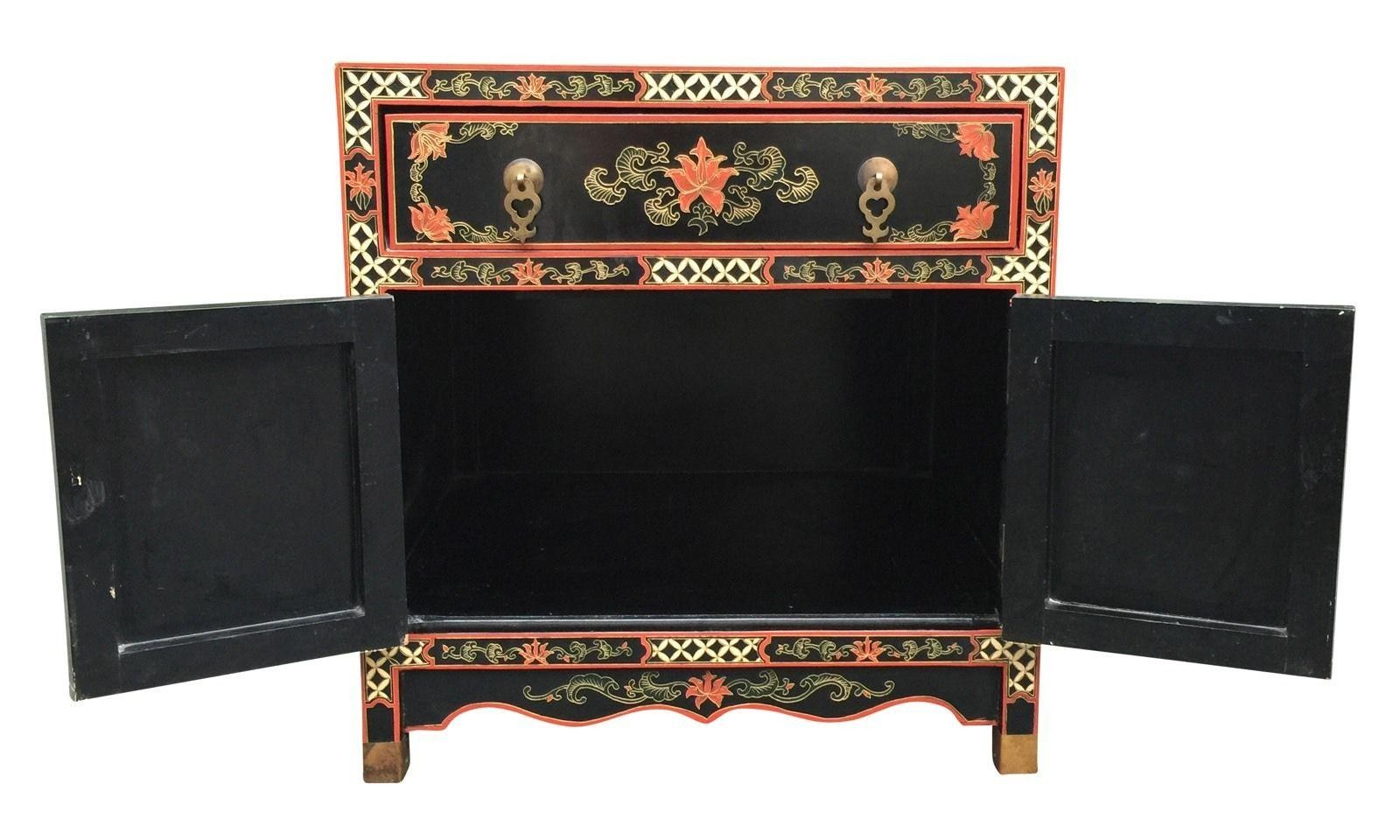 beautiful chinese chest accent table nightstand hand painted tables chests next distressed white coffee pier sofa lamp base modern with storage wood living room furniture dining