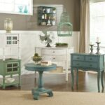 beautiful painted accent table with color furniture rustic gorgeous cottage accents round from ashley kitchen bedside drawers outdoor wicker side wood white and silver end tables 150x150