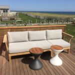 beautiful views from fun beachfront project working outdoor side table with ice bucket erica folding patio umbrellas that provide shade wood top coffee mid century modern dining 150x150