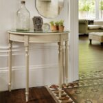 bedroom bombay company half moon table round chest semi circle small tables white console office marble top accent full size currey and lamps shabby chic dresser battery operated 150x150
