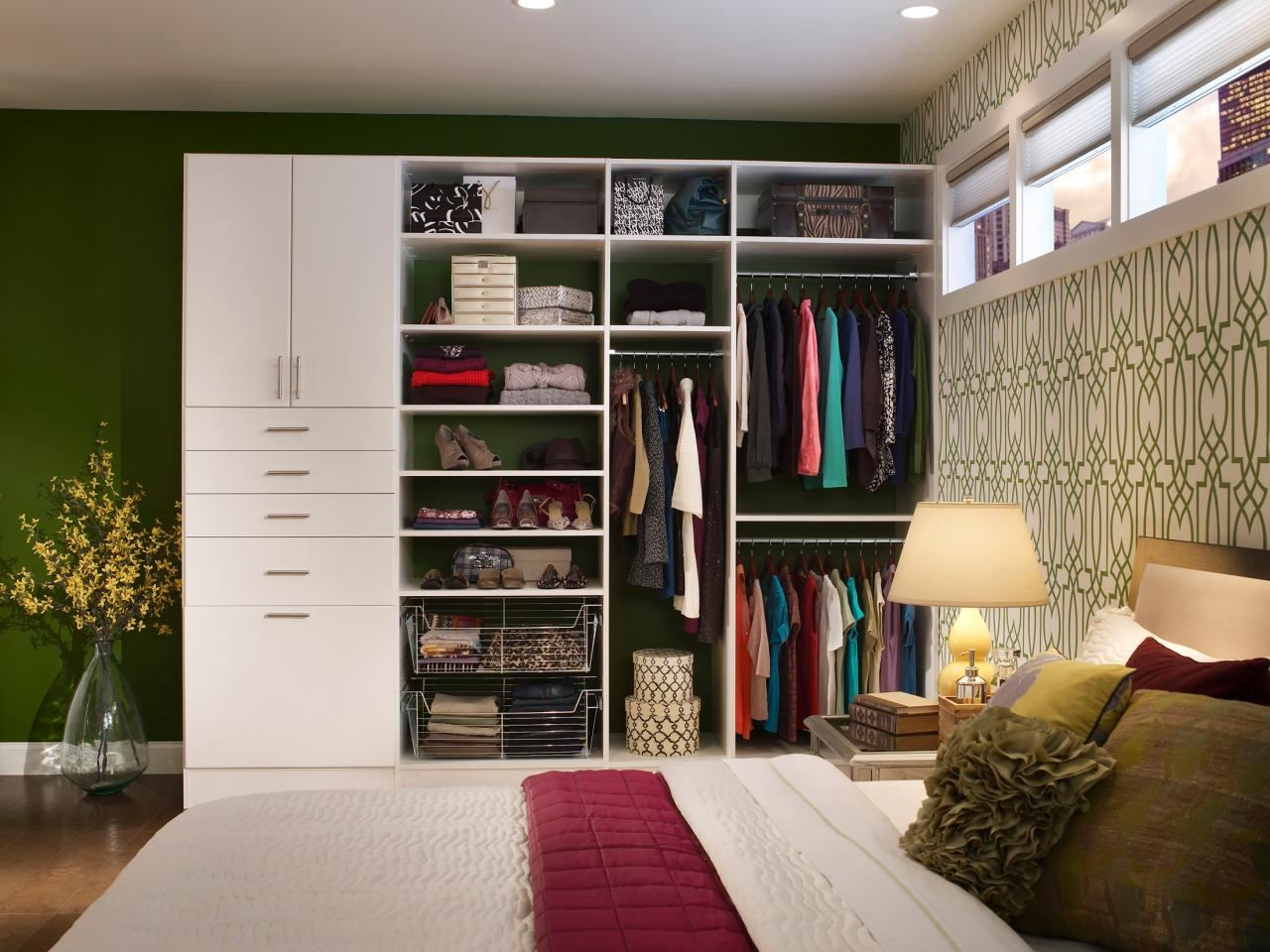 bedroom closet designs for small spaces stone top accent table white wooden clothes rack teak wood cabinet with mirror oval wall black towel ikea vanity lights living room shelves