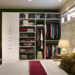 bedroom closet designs for small spaces stone top accent table white wooden clothes rack teak wood cabinet with mirror oval wall black towel nursery modern furniture miami round 150x150