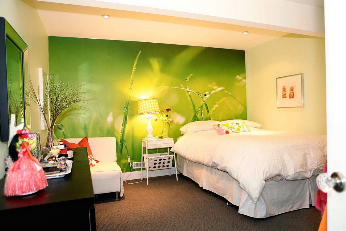 bedroom lovely color schemes lime green with white fabric bedding sets brown texture carpet black varnished wood side table square accent wall mirror pier one promo code nautical