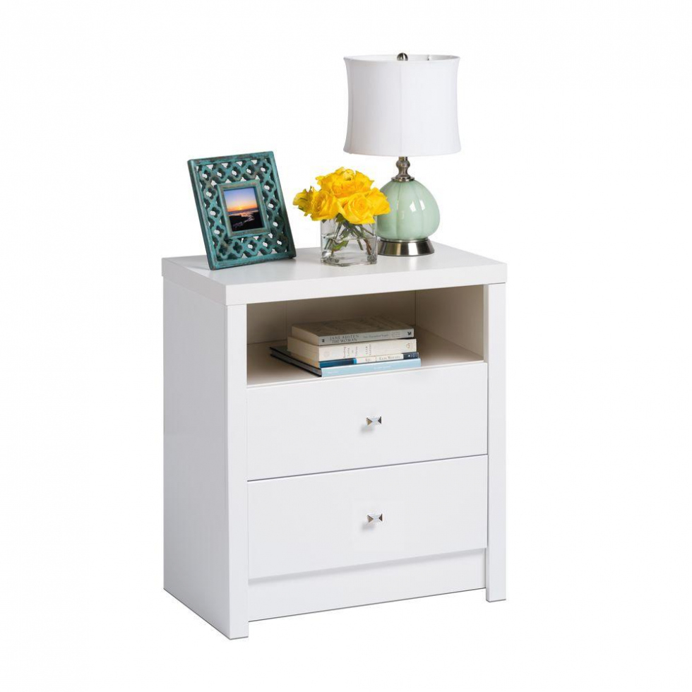 bedroom prepac calla drawer white nightstand wdnh the home with unique applied your house concept accent table round tablecloth goods dining chairs gold accents support outdoor