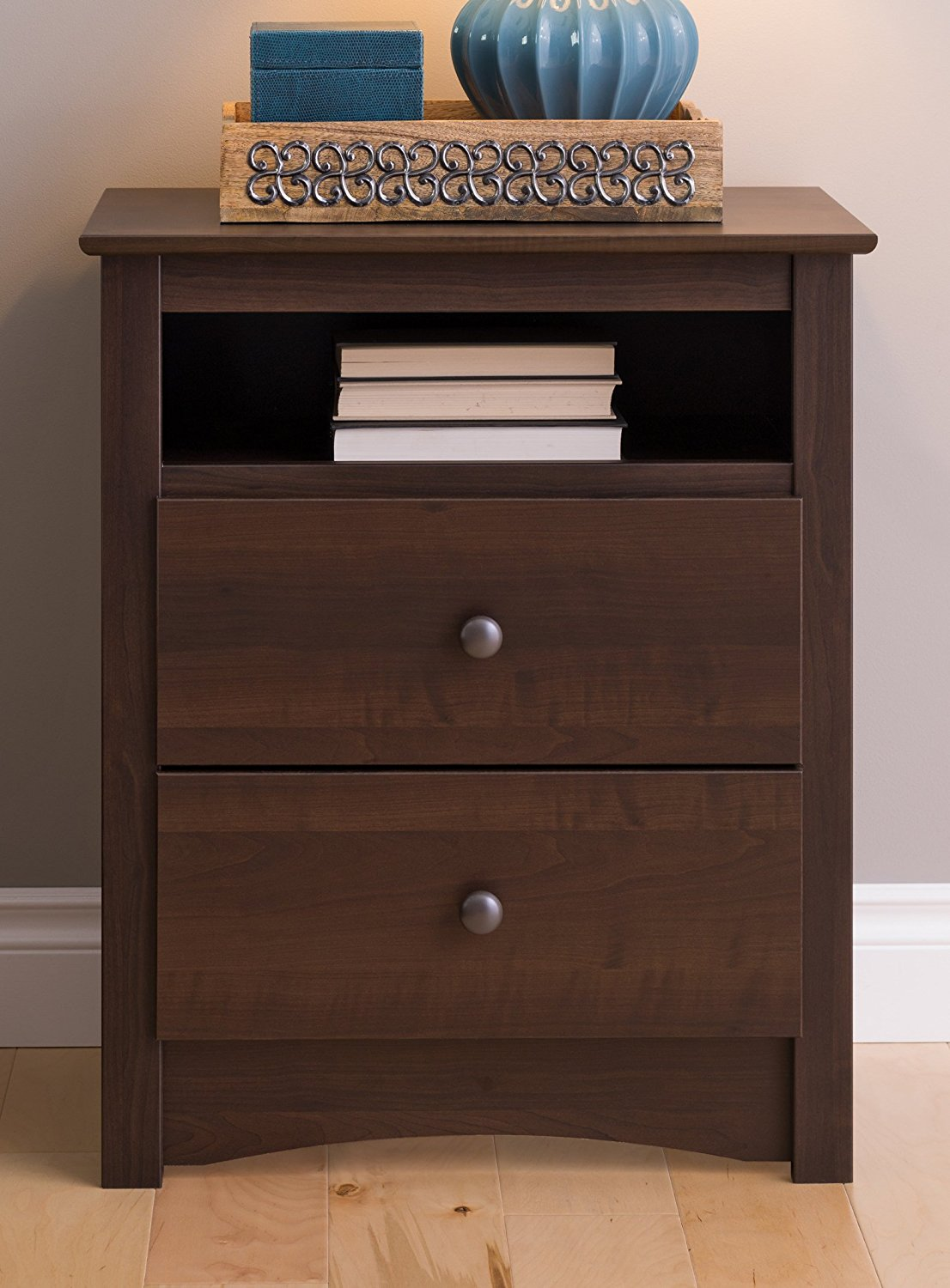 bedroom slim white bedside table side drawers fancy set two tables inexpensive nightstands with nightstand dark wood top prepac drawer accent full size farmhouse dining and bench
