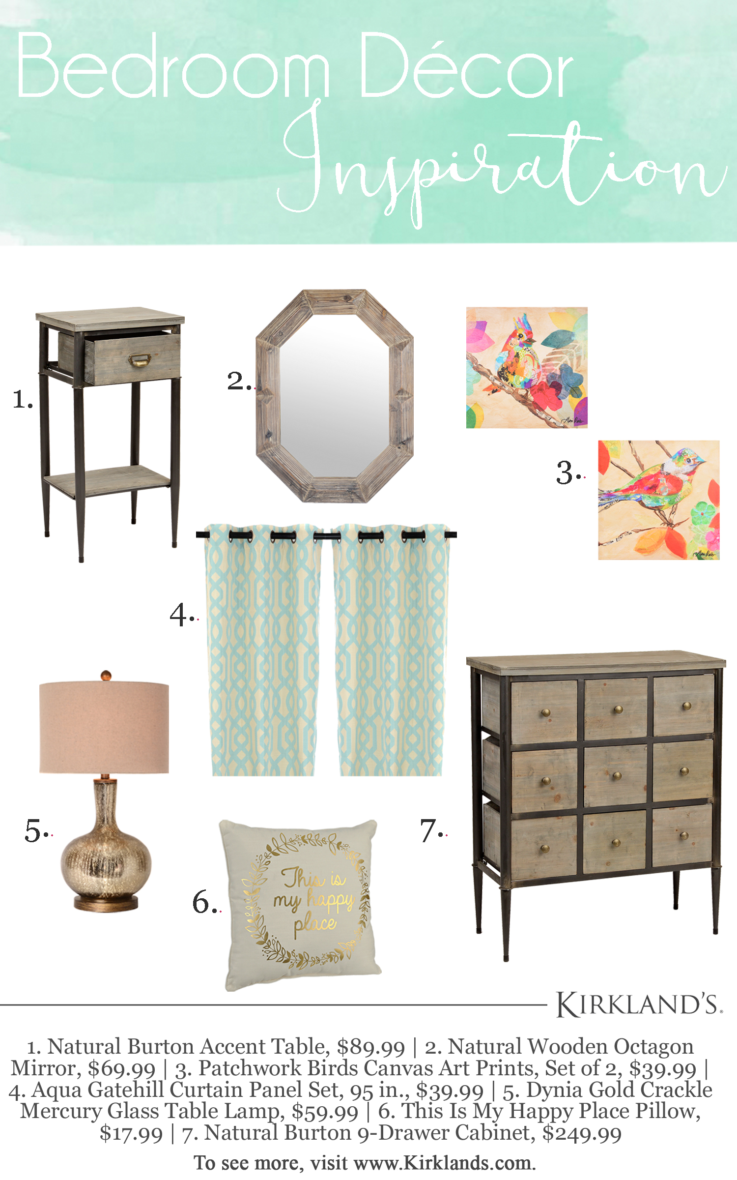 bedroom style ping with kirkland loving here blog kirklands accent tables side table between two chairs nesting end ethan allen outdoor bar cover diamond mirrored oversized