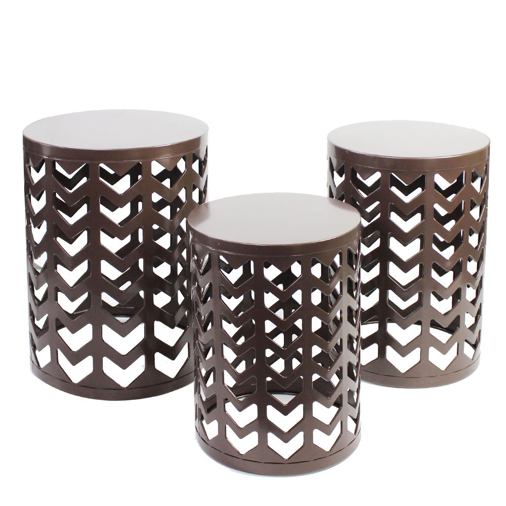 bedside round table set brown metal outdoor side ceramic end tables bedroom plant stand garden accents wire square marble top dining light shower head used for lamp sofa ikea cube