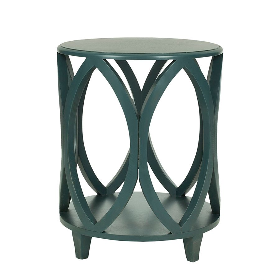beistelltisch janika green with envy table furniture accent pinie massiv tall hallway cabinet pottery barn dining chair slipcovers small wrought iron side storage grey wood diy