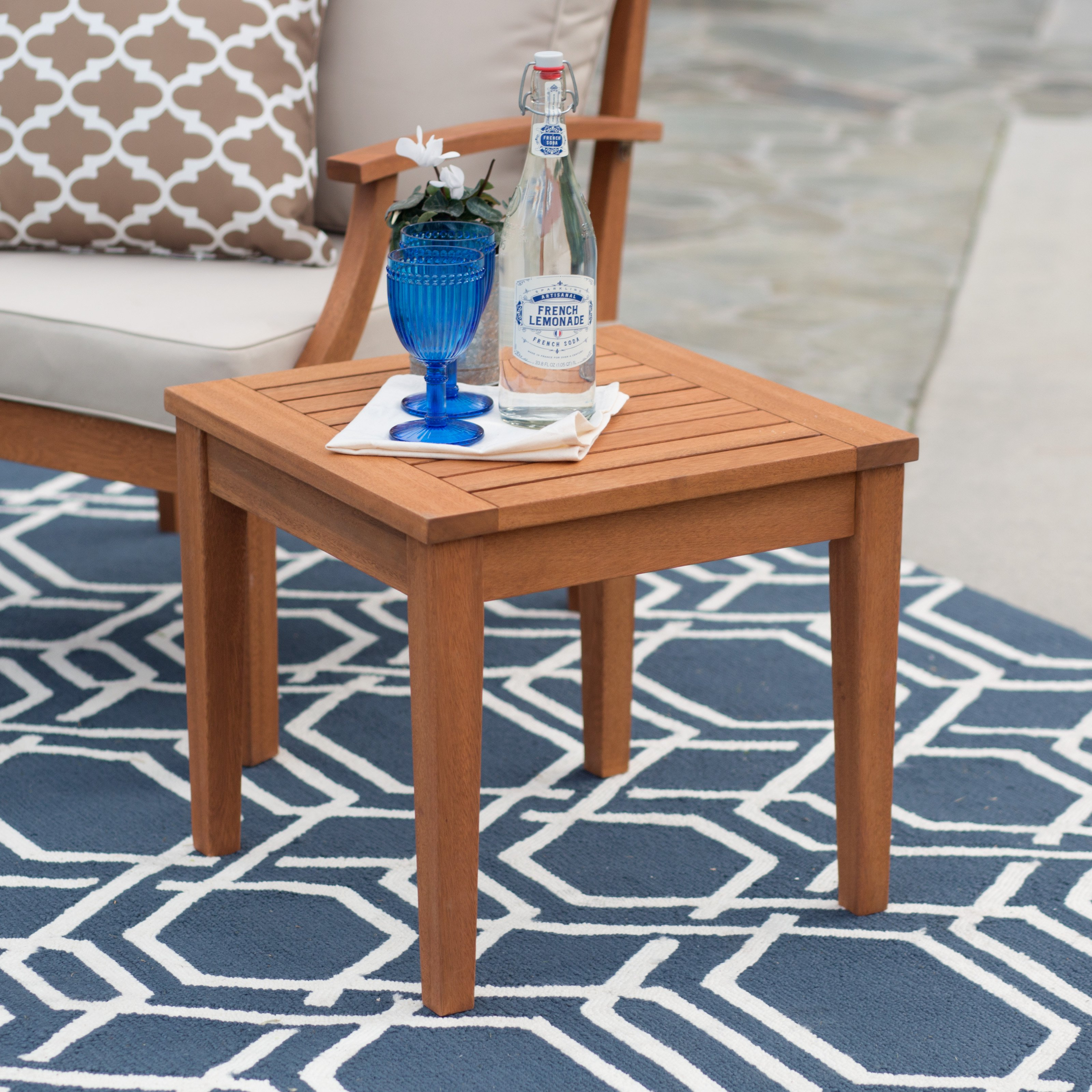 belham living brighton side table master outdoor wood accent wicker patio and chairs bunnings catalogue furniture corner foyer narrow pottery barn red console foosball pier one
