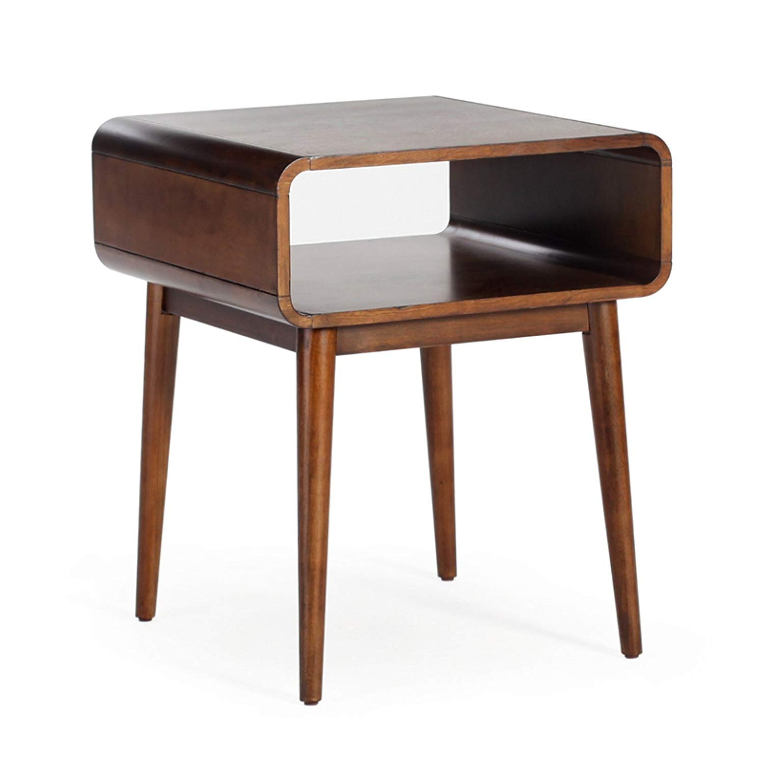 belham living carter mid century modern side table zebra accent kitchen dining pier one room tables glass agate cherry wood dinner mirrored lingerie chest piece small iron white