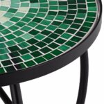 bella green mosaic outdoor accent table home improvement txvyzl living room furniture end tables extra wide floor threshold white upholstered dining chairs patio umbrella 150x150