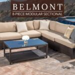 belmont piece modular seating set woven accent table video small ginger jar lamps cool round tablecloths behind couch name repurposed furniture bunnings outdoor dining inch tiered 150x150