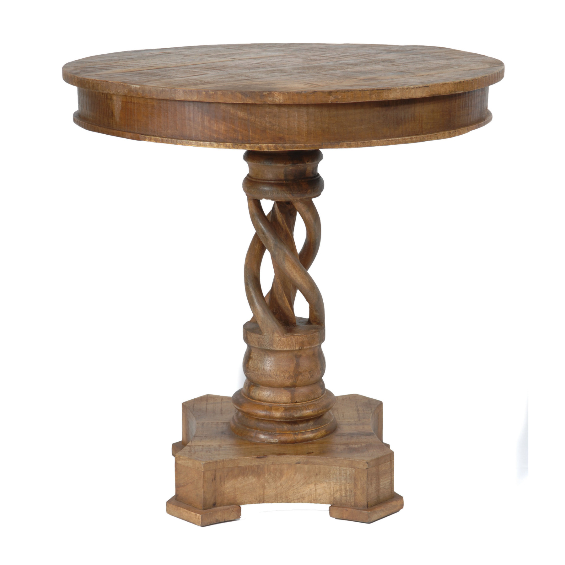 bengal manor mango wood twist accent table inches tall inch high end nate berkus lamp balcony umbrella metal drum tilt diy plans threshold margate small wooden barn door entry
