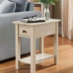 benton side table with charging station accent tables indoor wide nightstand glass stacking end contemporary decorative accents for living room farmhouse coffee set ballard office 150x150