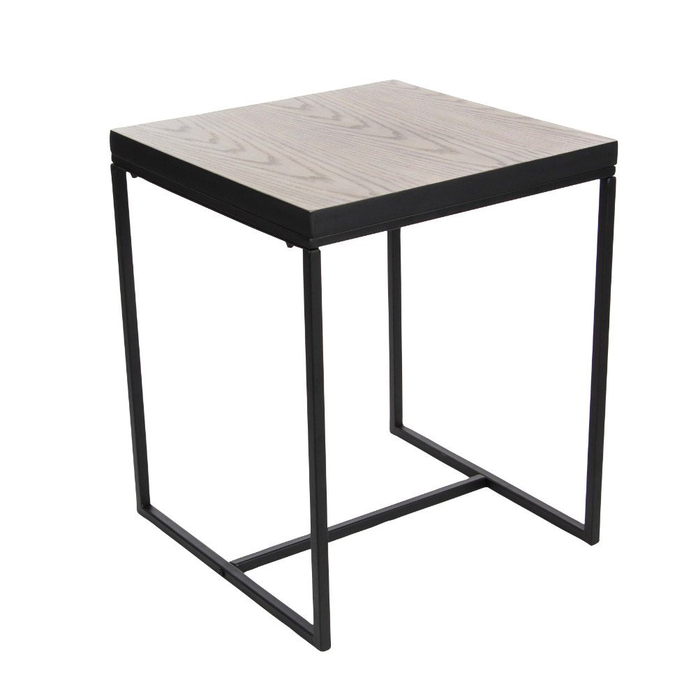 benzara prosperous metal wood accent table home kitchen winsome cassie with glass top cappuccino finish pier one outdoor wicker furniture patio and umbrella grey cabinet small