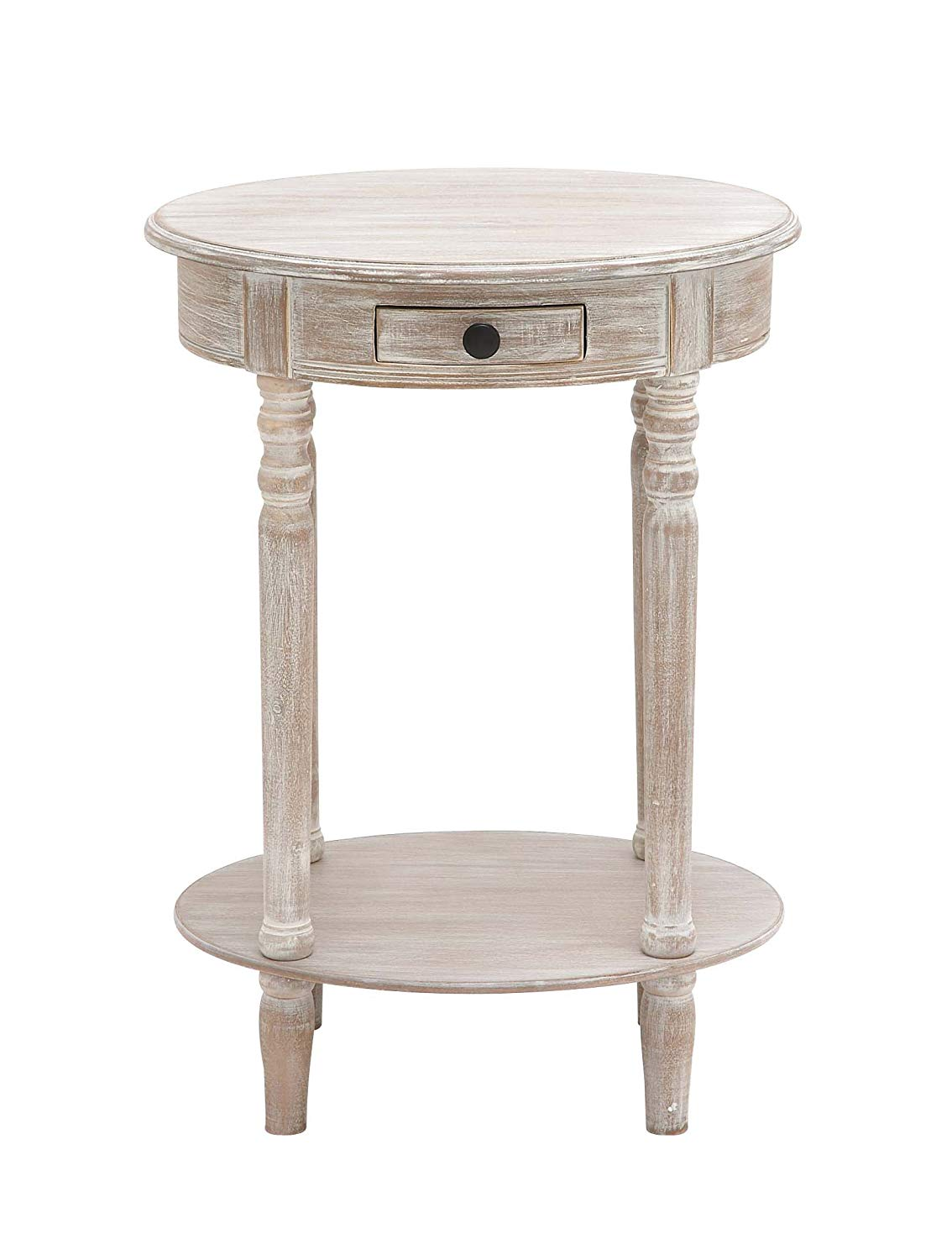 benzara the petite wood oval accent table small inch off white kitchen dining marble coffee cool lamps keter ice cooler garden chairs contemporary side tables red oriental lamp