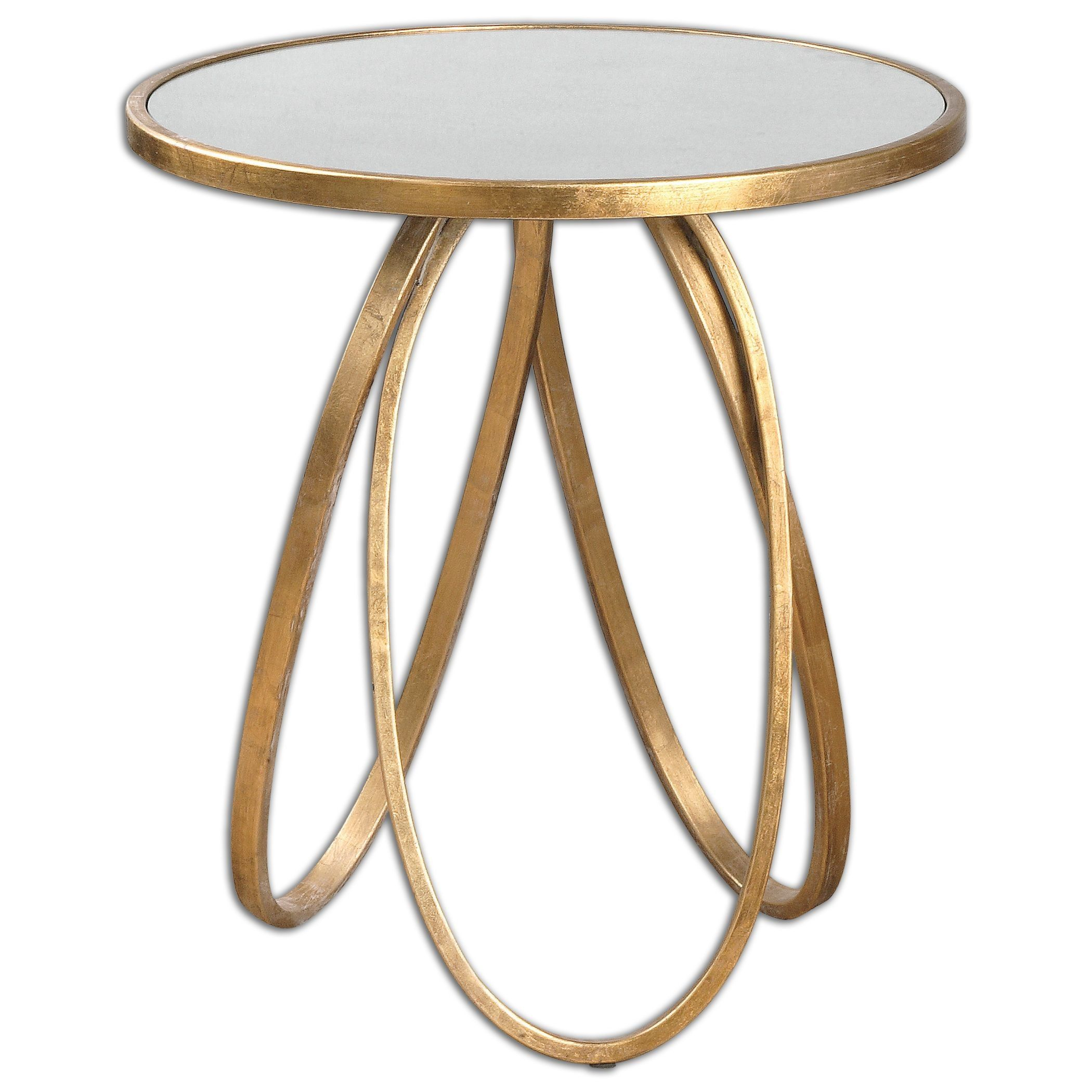 bernard accent table home decor accents black gold the curved contemporary lines our collides with rich metallic and create chic glamorous any space antique marble side cast