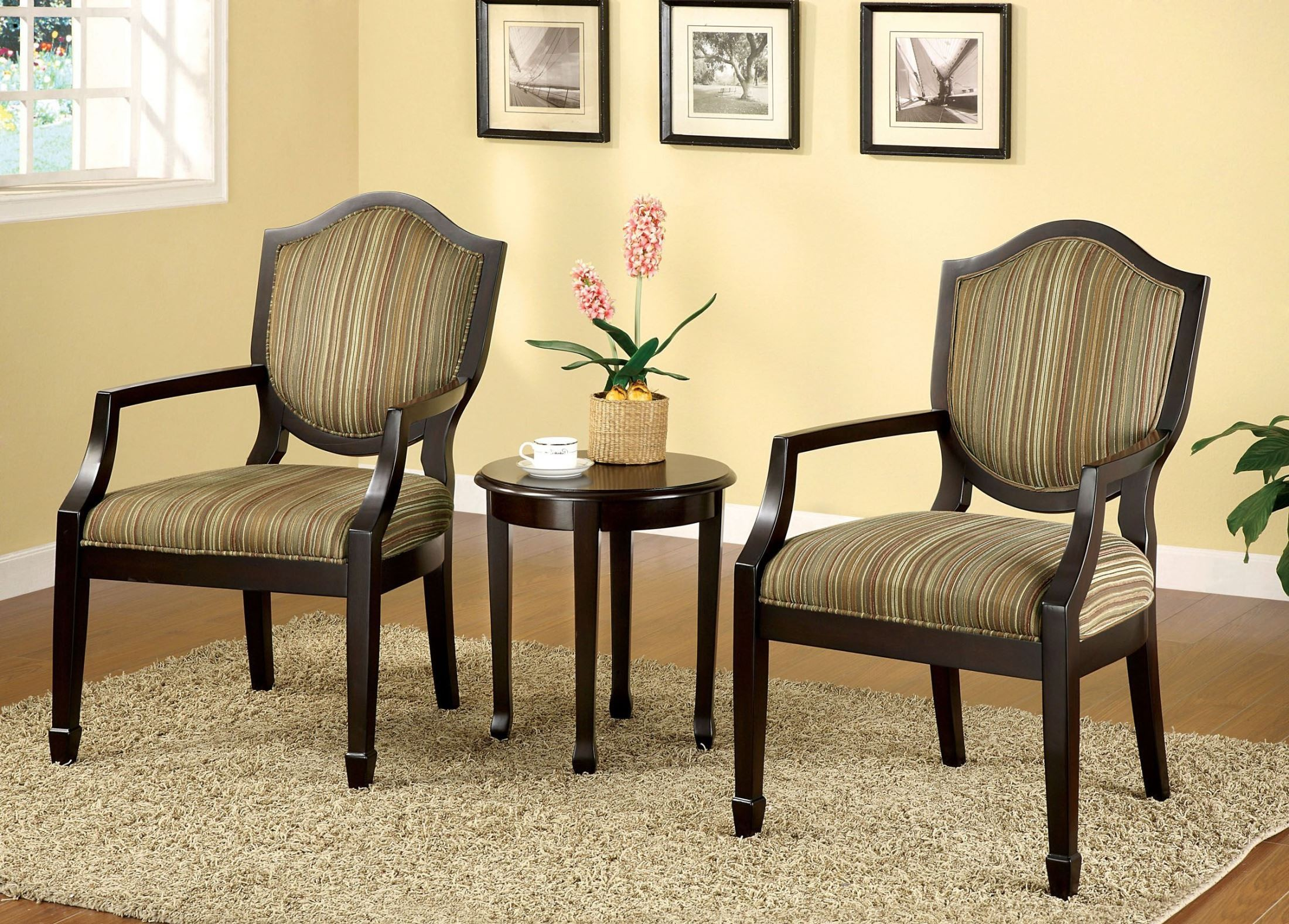 bernetta espresso piece accent table chair set from beach themed floor lamps wedding list ideas chess side small living furniture cream metal farm with leaf cooler middle dining
