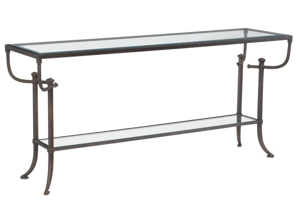 bernhardt hawthorne contemporary console table products color glass top accent bronze hawthorneconsole white wood small pub dining nautical kitchen brown marble high corner round