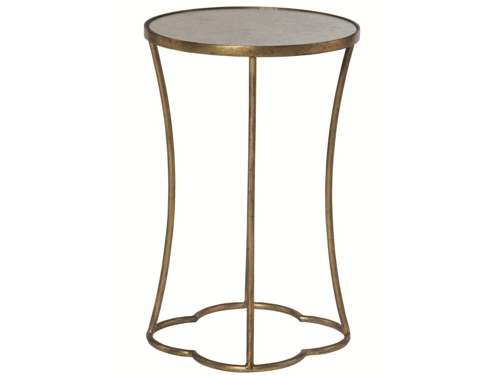 bernhardt interiors accents kylie round accent table with antique products color occasional tables mirrored top target kitchen island wine rack cabinet farmhouse style dining room