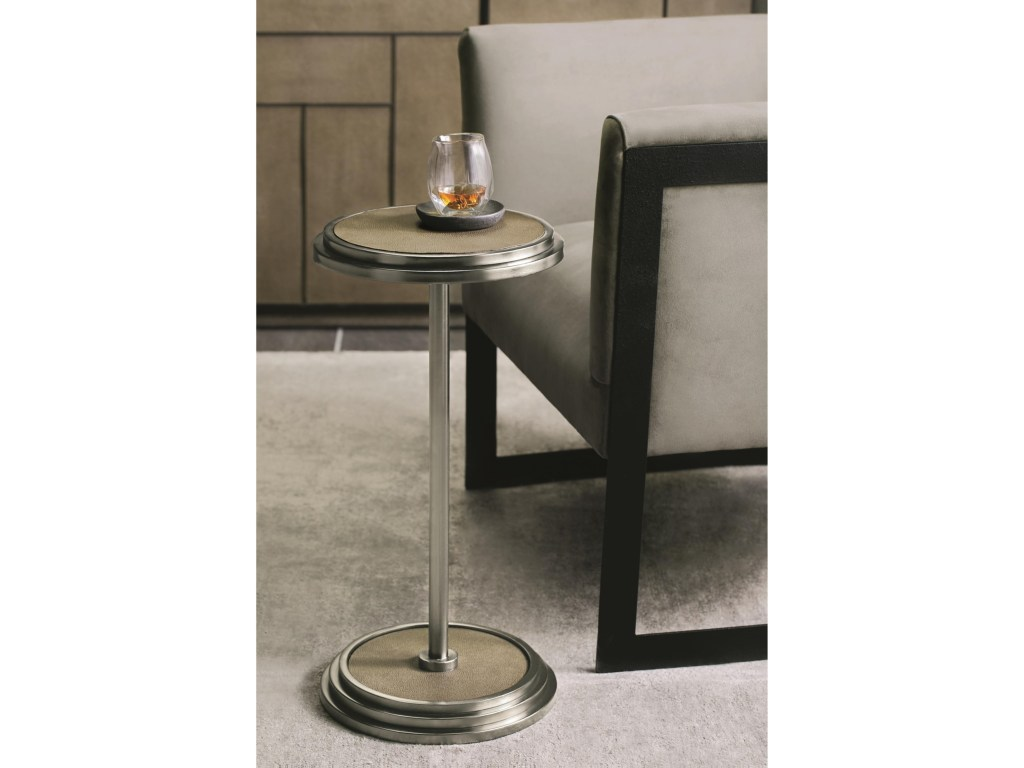 bernhardt mosaic round end table with shagreen products color threshold accent mosaicround apothecary chest wall file organizer ikea battery operated side lamp aluminum outdoor