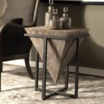 bertrand contemporary gray wash wood accent table uttermost linen covers black marble dining set high coffee kmart desk patio umbrella base copper kitchen cupboards oval glass top 150x150