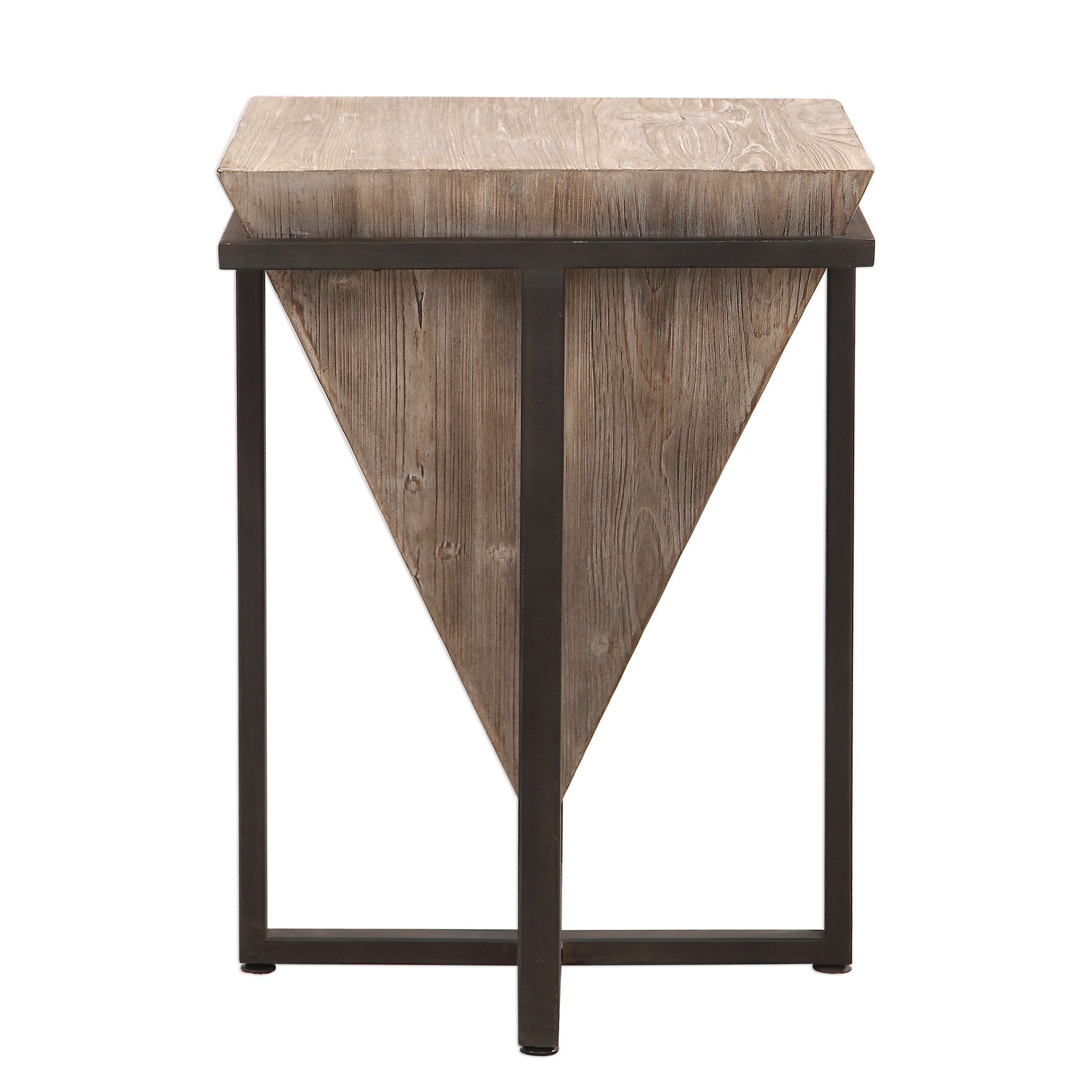 bertrand contemporary gray wash wood accent table uttermost tables coffee toronto target floor rugs black drum modern dining carpet edge strip ikea furniture nightstand lamps