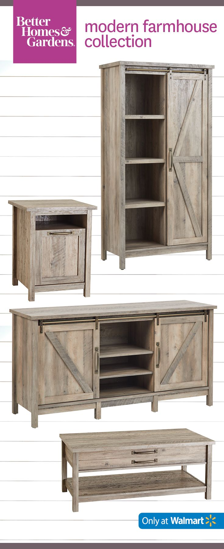 best bets from products farmhouse better homes and gardens accent table rustic gray stand little cottages white chairside furniture occasional tables plus tablet kitchen island