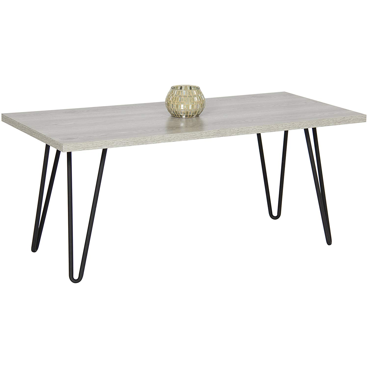 best choice products coffee table metal hairpin legs round accent with screw home kitchen gray contemporary couches under white lamp gresham furniture all modern lamps green black