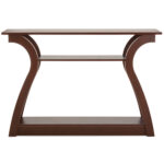 best choice products shelf modern decorative console accent table furniture for entryway living room brown lamb chair and set stackable end tables solid wood outside patio cover 150x150