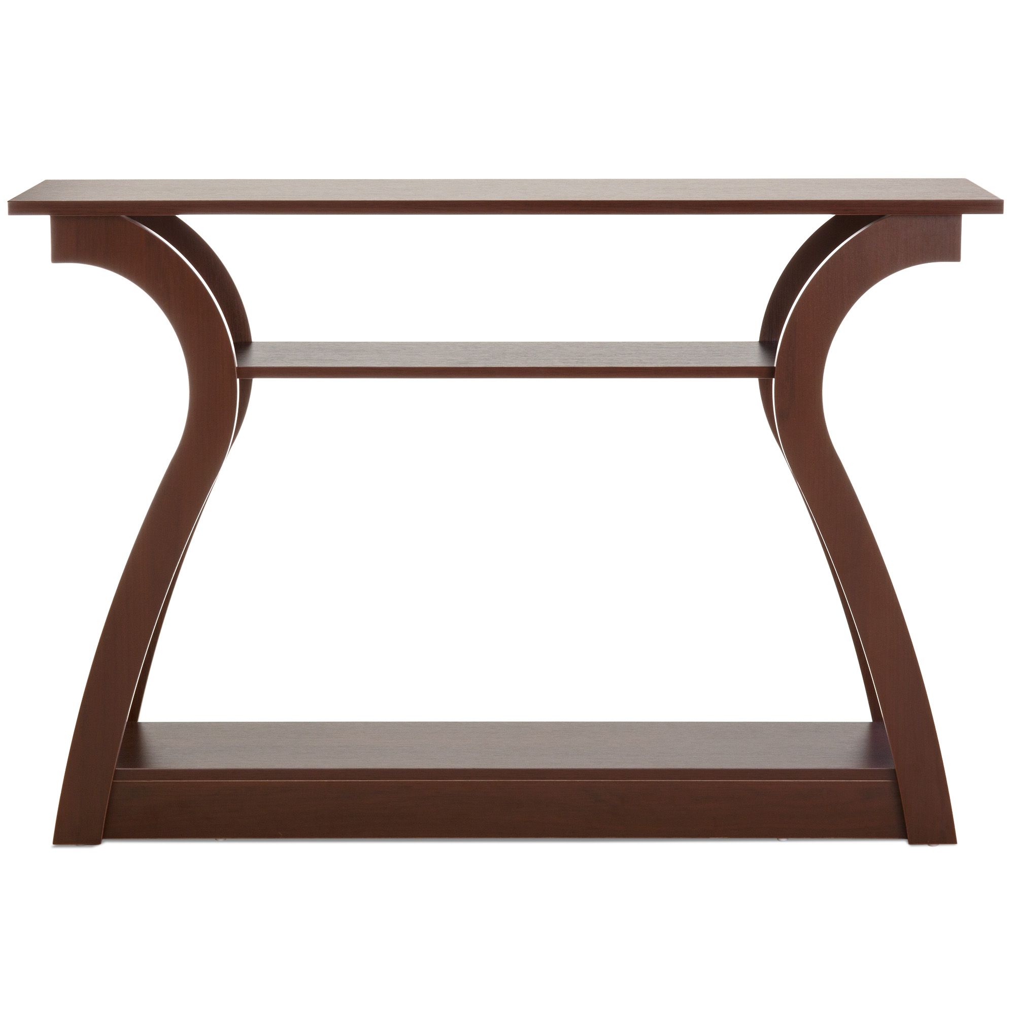 best choice products shelf modern decorative console accent table furniture for entryway living room brown lamb chair and set stackable end tables solid wood outside patio cover