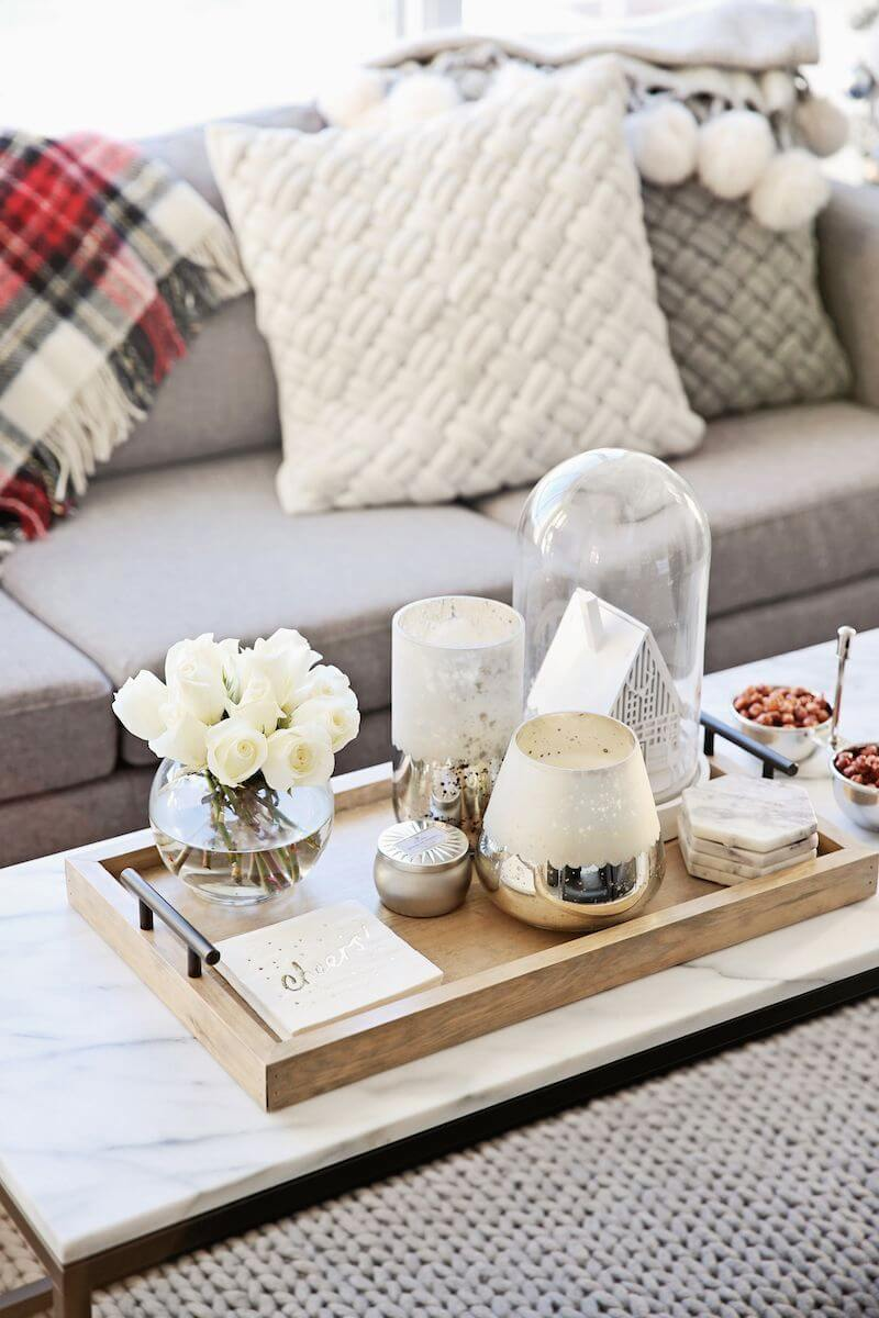 best coffee table decorating ideas and designs for homebnc gold wire accent glass tray display marble topped white ginger jar lamps narrow end ethan allen pineapple chairs patio