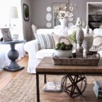 best coffee table decorating ideas and designs for homebnc living room accent double decker display geometric art natural accents white marble top side large farmhouse home 150x150