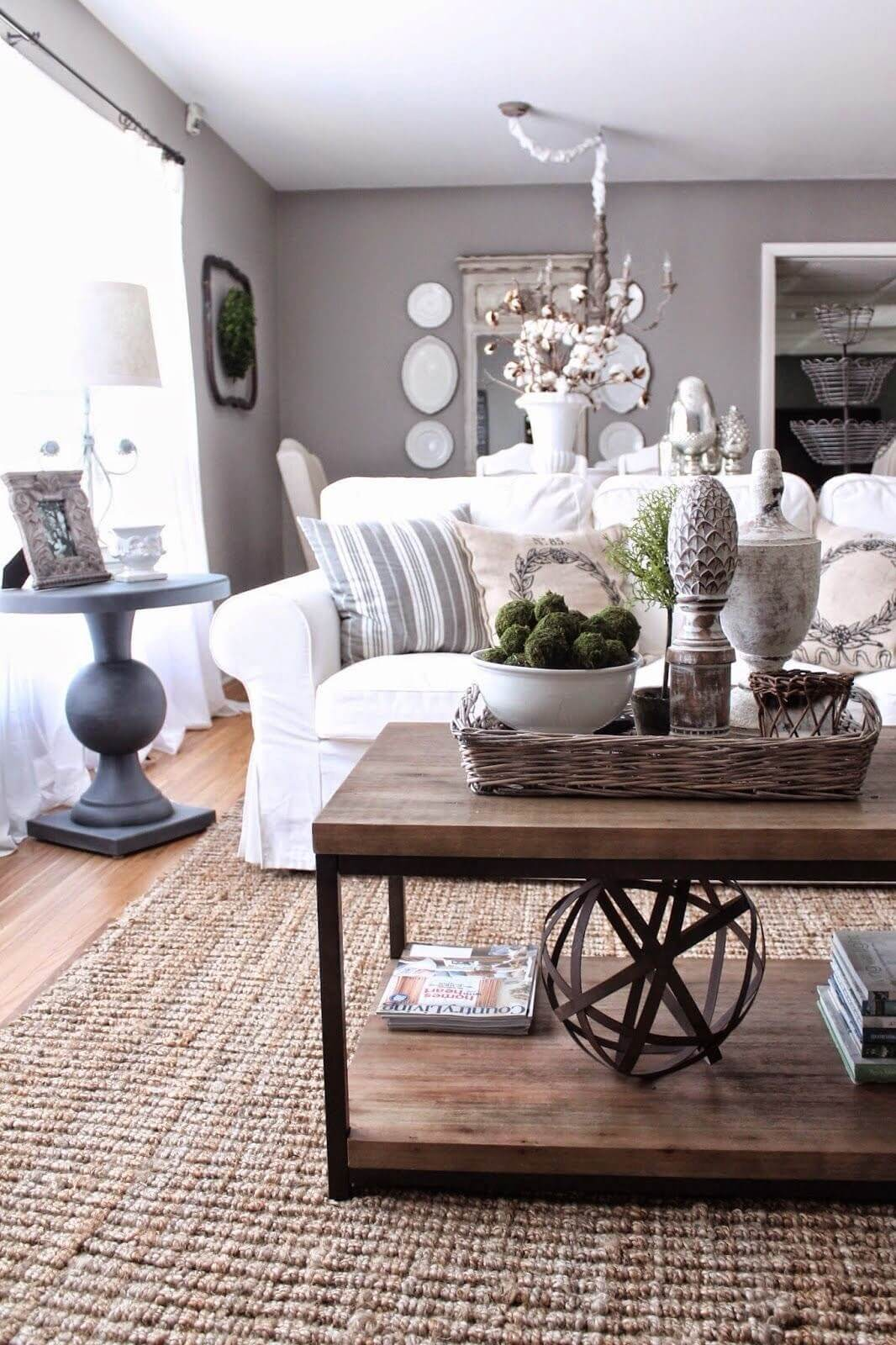 best coffee table decorating ideas and designs for homebnc living room accent double decker display geometric art natural accents white marble top side large farmhouse home