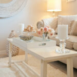 best coffee table decorating ideas and designs for homebnc pink marble accent champagne white cottage chic tray west elm pendant lamp dinner square patio umbrella half moon 150x150