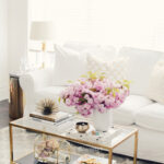 best coffee table decorating ideas and designs for homebnc pink marble accent retro glam gold glass floral display windham furniture collection solid cherry wood antique oak side 150x150