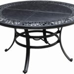 best collection patio umbrella stand side tables mosaic outdoor coffee table inspirational dining with regard recent bombay outdoors pineapple accent furniture world concrete top 150x150