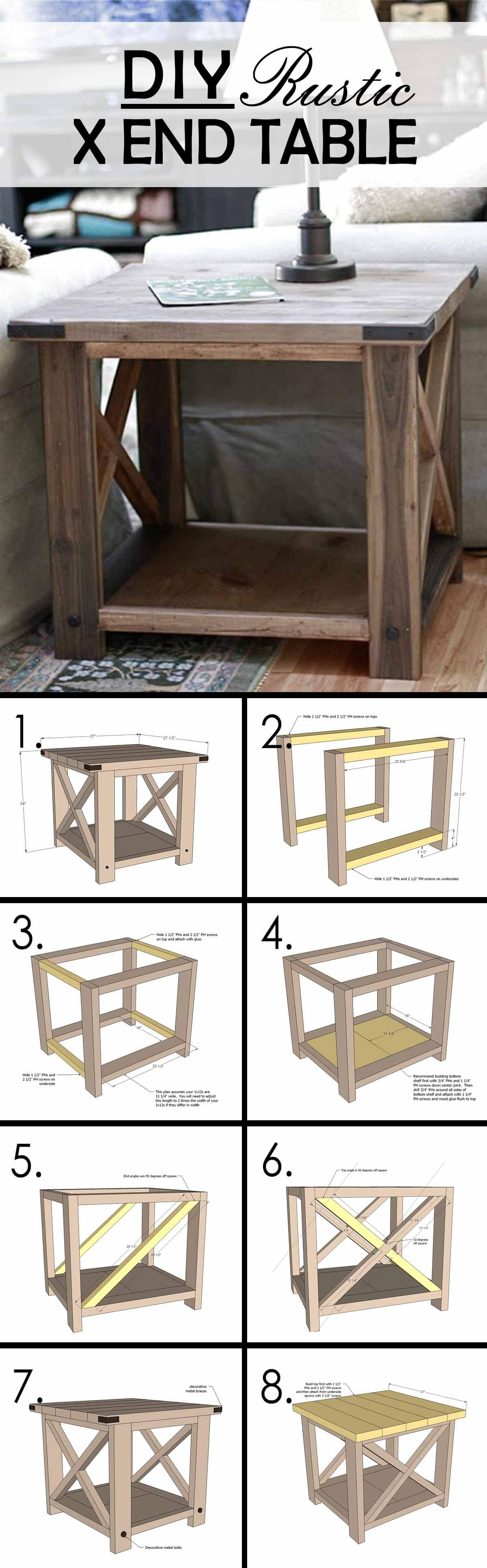 best diy farmhouse coffee table ideas and designs for homebnc accent build your own rustic cube end tables tall side with storage small pedestal metal legs unusual lamp shades