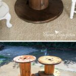 best diy farmhouse coffee table ideas and designs for homebnc accent decor easy industrial wooden spool antique end tables white marble gold italian round glass top black cherry 150x150