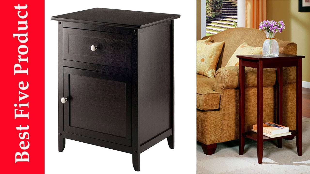 best end tables reviews winsome wood beechwood accent table espresso removable legs marble glass inch nightstand bedside lamp shades monarch coffee ashley office furniture round