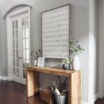 best farmhouse wall decor ideas and designs for homebnc accent table mod wood with oversized quote end tables electrical hairpin leg italian marble coffee west elm copper lamp 150x150