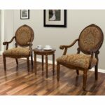 best master furniture miranda traditional living accent chair set with table room and kitchen dining wicker porch clothes brown lamp cocktail end sets contemporary style folding 150x150