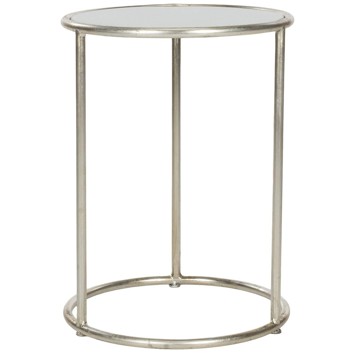 best metal accent table with glass top safavieh home collection shay silver reclaimed wood bar diy inch round vinyl tablecloth gallerie rugs decorative cordless lamps french style
